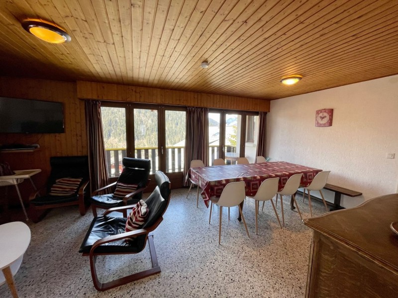 Appartement La Chouta 4 Pièce de vie Châtel Haute-Savoie