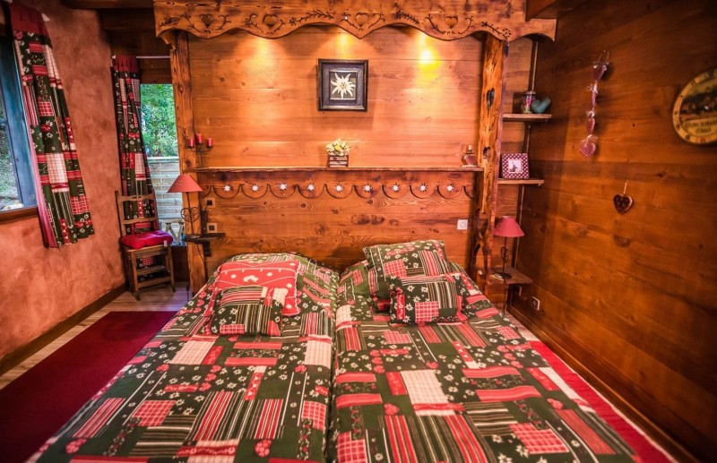 Appartement La Couqueille Chambre Châtel Haute-Savoie