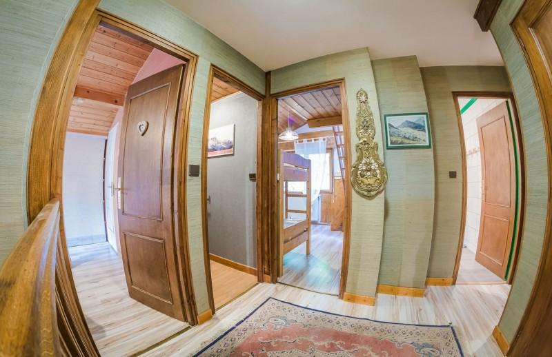 Appartement La Couqueille Couloir Châtel 74