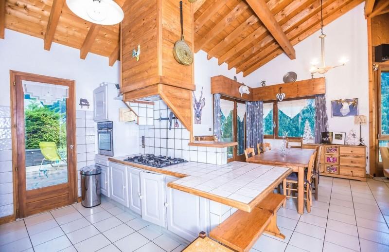 Appartement La Couqueille Cuisine Châtel