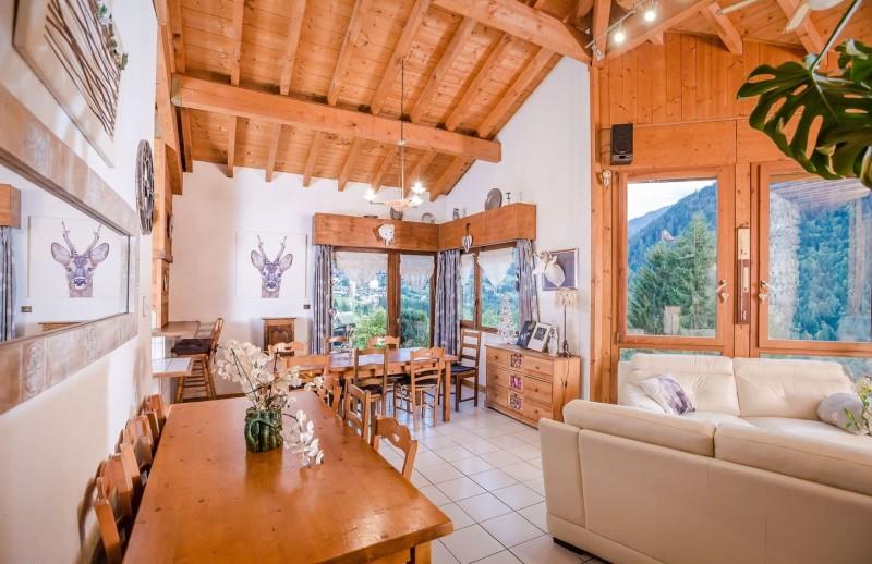 Appartement La Couqueille Pièce de vie Châtel Haute-Savoie