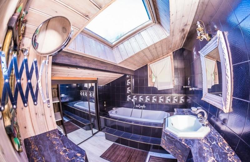 Appartement La Couqueille Salle de bain Châtel