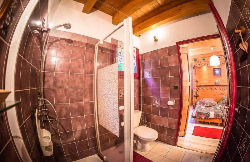Appartement La Couqueille Salle de douche Châtel