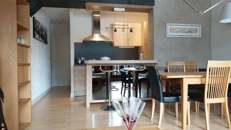 Appartement le morclan 14cuisine Châtel Haute Savoie