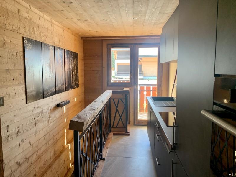 Appartement le Terroit 01B Cuisine Châtel Haute-Savoie