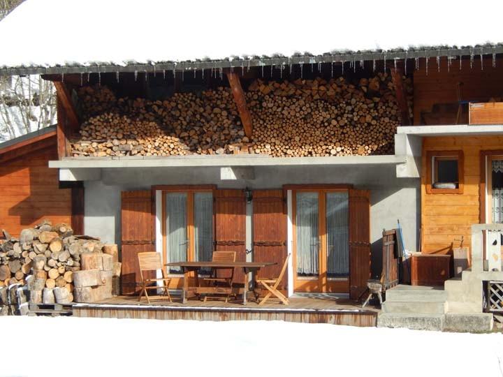 Appartement les Geraniums Terrasse Châtel 74