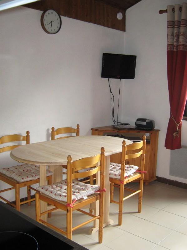 Appartement Les Voinettes 28A, Pièce de vie Châtel
