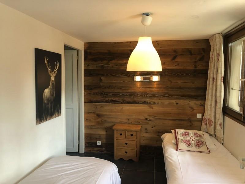 Appartement Martonne, Chambre 2 lits simples Châtel France