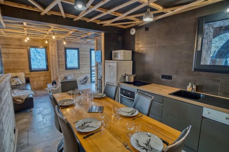Appartement Martonne terasse salle a manger Châtel Portes du Soleil