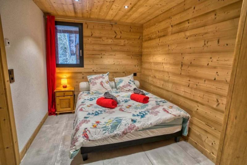 Appartement Martonne terrasse, Chambre 1 lit double, Châtel