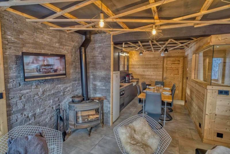 Appartement Martonne terrasse, Salon, Châtel Portes du Soleil