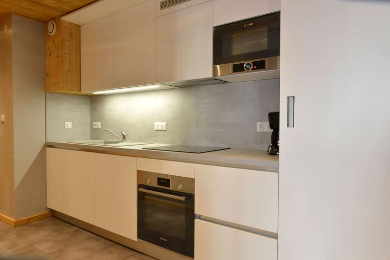Appartement n°2 dans chalet l'EPICEA, Cuisine Châtel