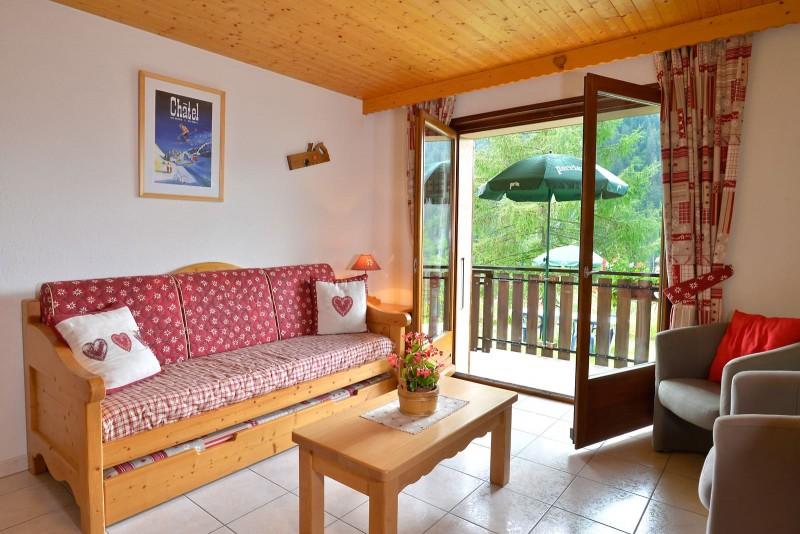 Appartement n°3 dans résidence le Blanchot, Séjour, Châtel France