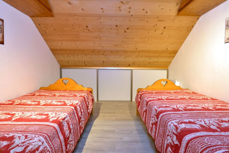 Appartement n°4 chalet L'EPICEA, Chambre Châtel 74