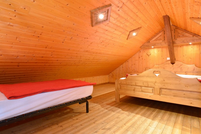 Appartement n°4 chalet L'EPICEA, Chambre Châtel France