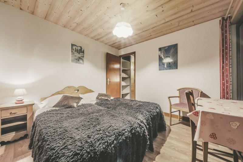 Appartement n°4 dans résidence Lou Candres, Chambre n°2 avec lit double, Châtel Portes du Soleil