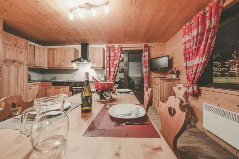 Appartement n°4 dans résidence Lou Candres, séjour, Châtel