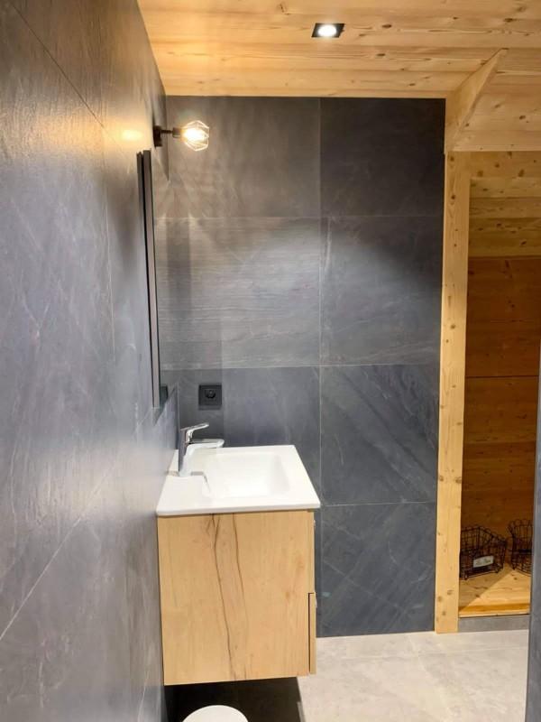 appartement oiseau de nuit salle de bain Châtel