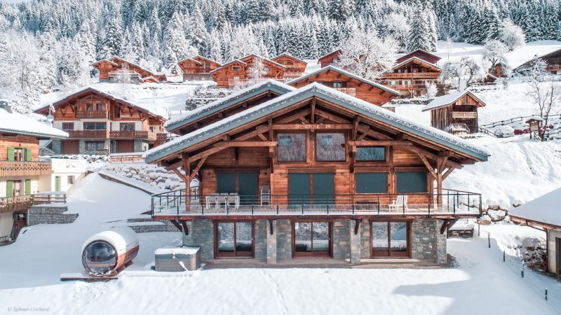 Chalet Bovard Châtel Luxe
