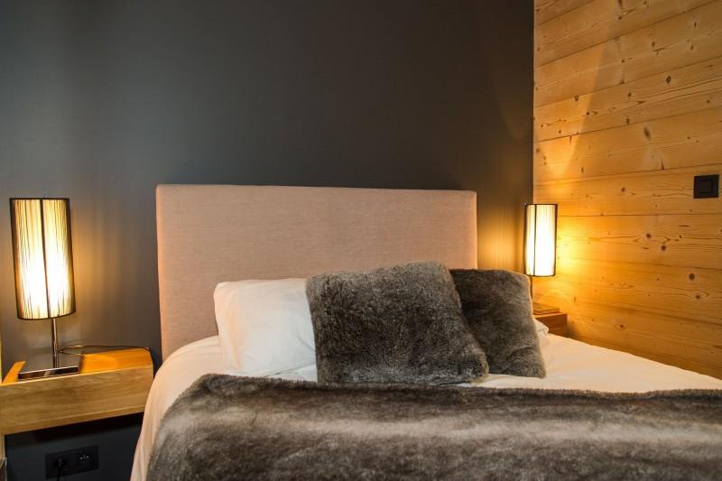 Chalet du Saix chambre 1 lit double Châtel