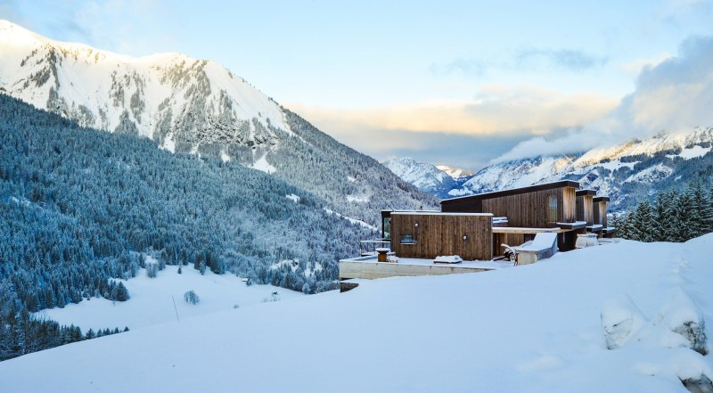 Chalet hiver chatel©thuria