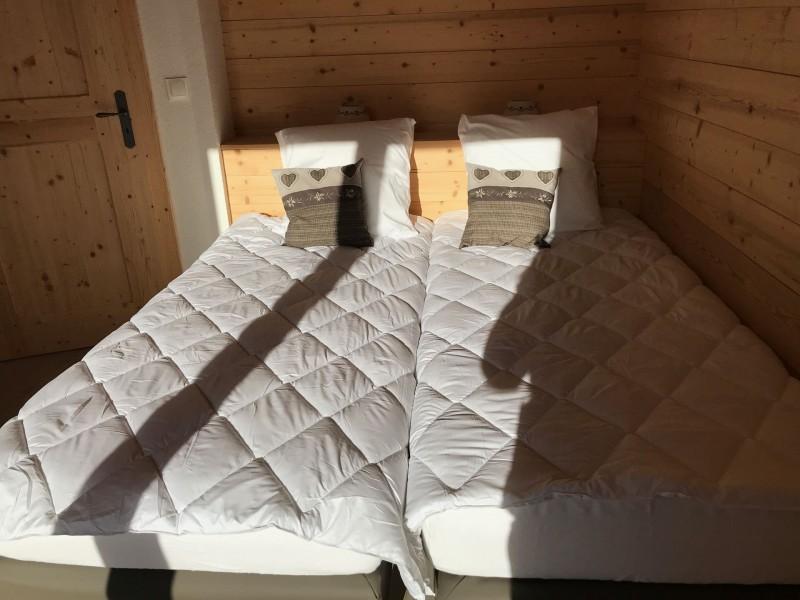 Chalet l'echo du morclan, Chambre 2 lits simples, Châtel Portes du Soleil