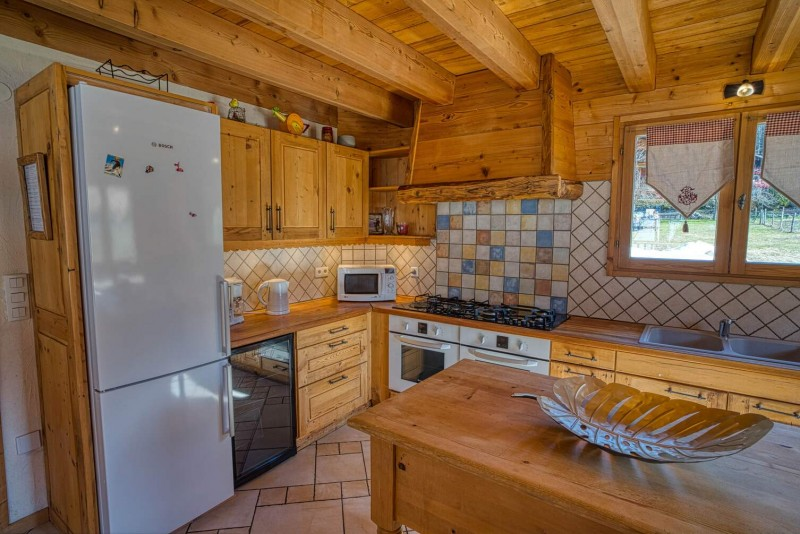 Chalet La Cascade cuisine Châtel Haute Savoie