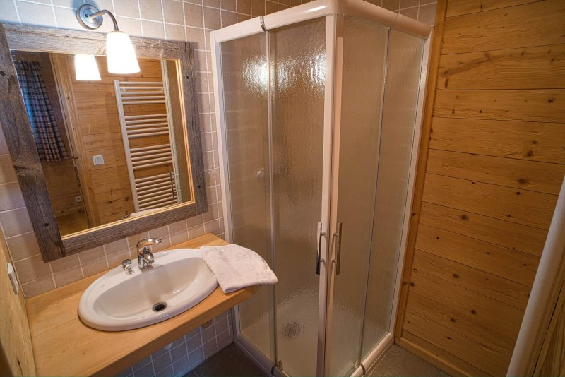 Chalet La Cascade salle de bain Châtel France