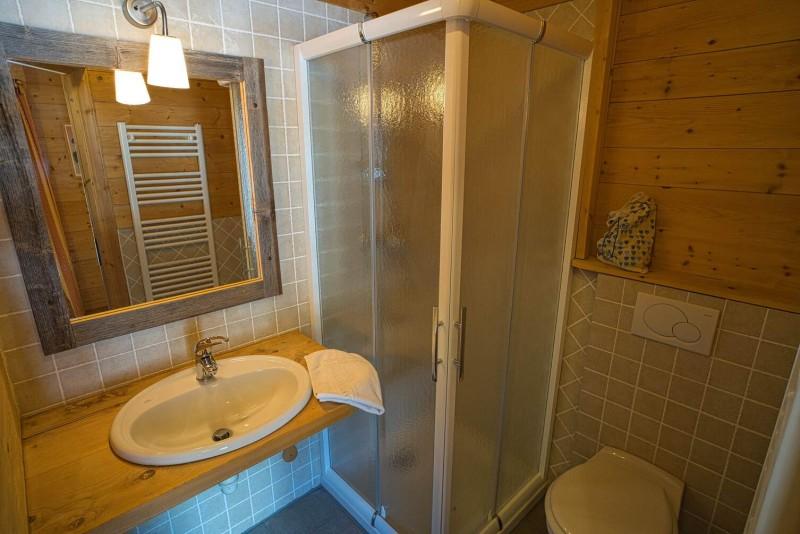 Chalet La Cascade salle de bain Châtel Haute Savoie