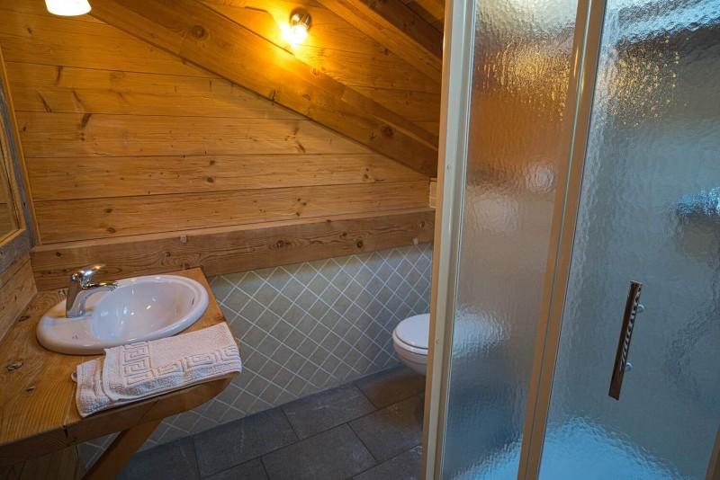 Chalet La Cascade salle de bain Châtel station de ski