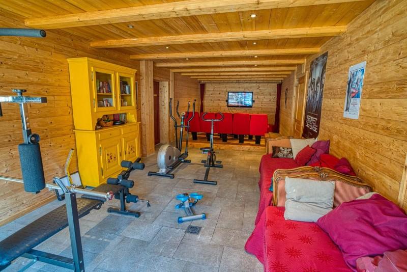 Chalet La Cascade salon Châtel sports d'hiver