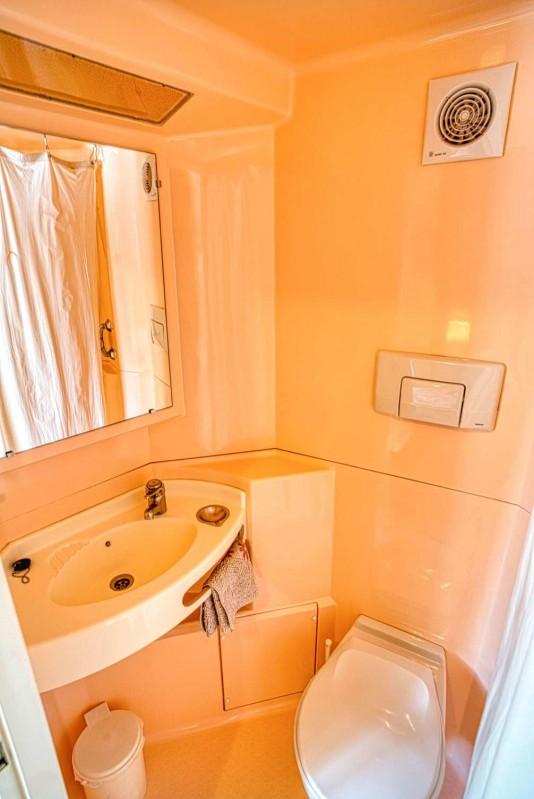 chalet la Savoyarde salle de bain  Châtel  famille