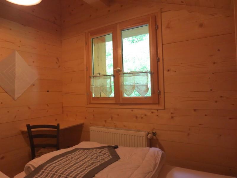 Chalet le Castor, Chambre 2 lits simples n°2, Châtel Portes du Soleil