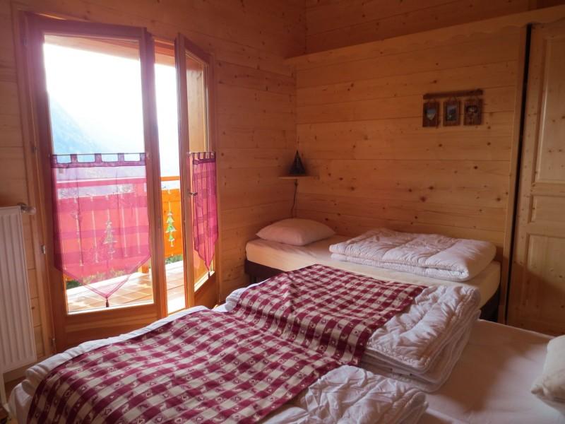 Chalet le Castor, Chambre 4 lits simples , Châtel Haute Savoie