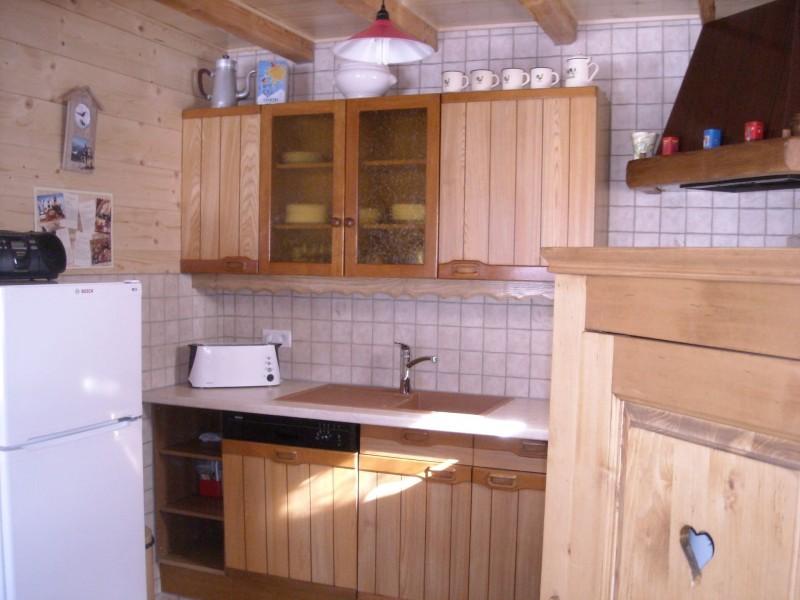 Chalet le Castor, cuisine, Châtel Haute Savoie