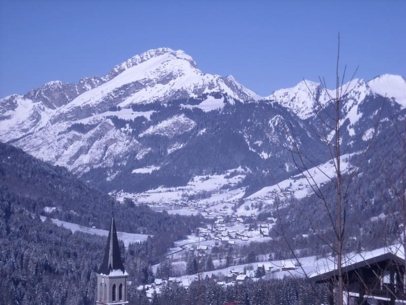 Chalet Le Cerf Chambre Vue Châtel Montagne