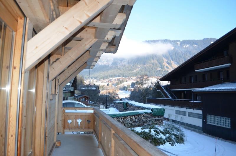 Chalet le ramoneur savoyard, Vue depuis le balcon , Châtel Portes du Soleil