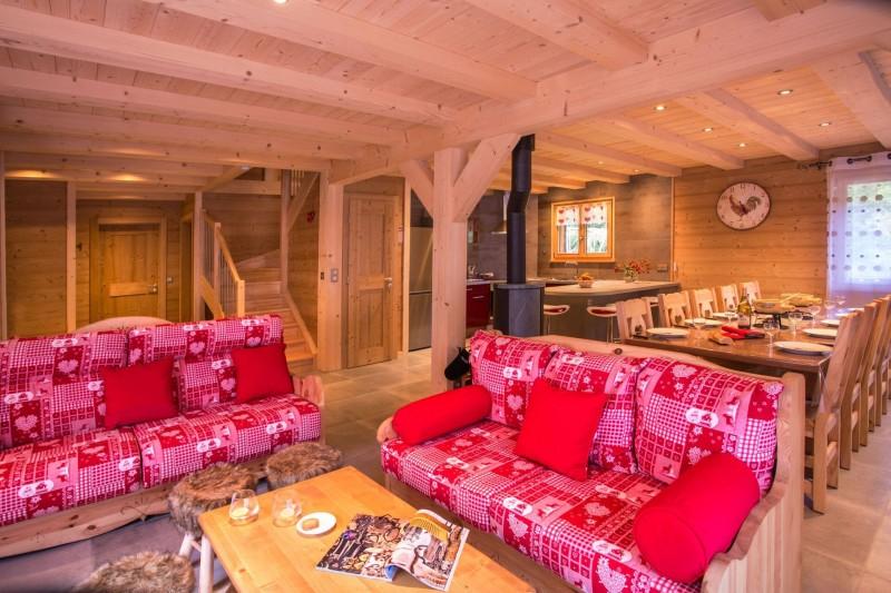 Chalet le Savoyard, Salon, Châtel Haute Savoie