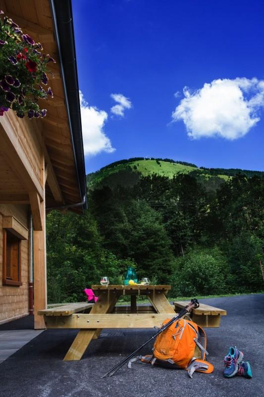 Chalet le Savoyard, vue du chalet, Châtel Haute Savoie