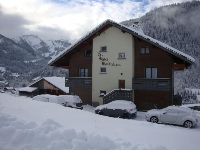 Chalet le Val d'Or en hiver, Châtel Haute Savoie