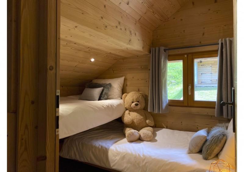 Chalet les 3 ours chambre 2 lits superposés Châtel