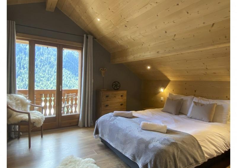 Chalet les 3 ours chambre avec 1 lit double Châtel