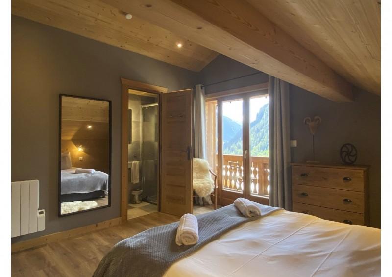 Chalet les 3 ours chambre avec 1 lit double Châtel 74
