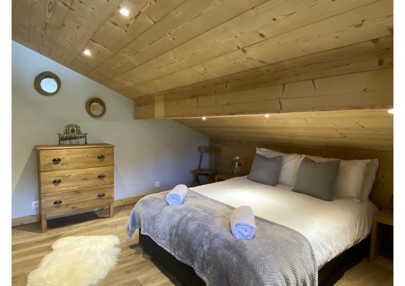 Chalet les 3 ours chambre n°2 avec 1 lit double Châtel