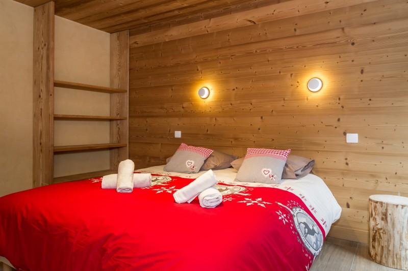 Chalet les Bucherons, Chambre 1 lit double, Châtel Portes du Soleil