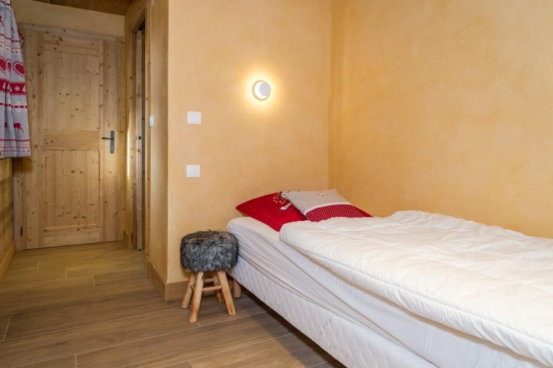 Chalet les Bucherons, Chambre 2 lits simples, Châtel France