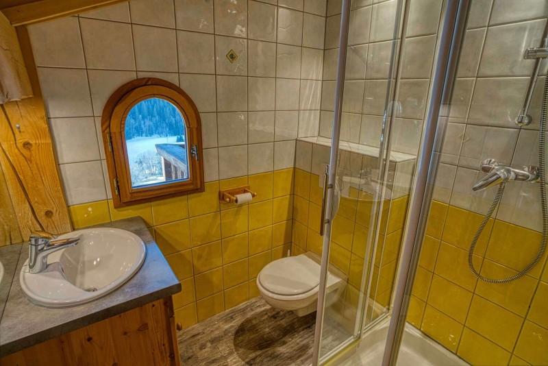 chalet les deux vallées salle de bain  Châtel 74 Haute Savoie