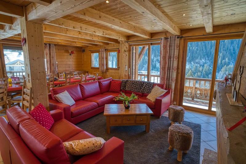 chalet les deux vallées  salon Châtel Haute-Savoie