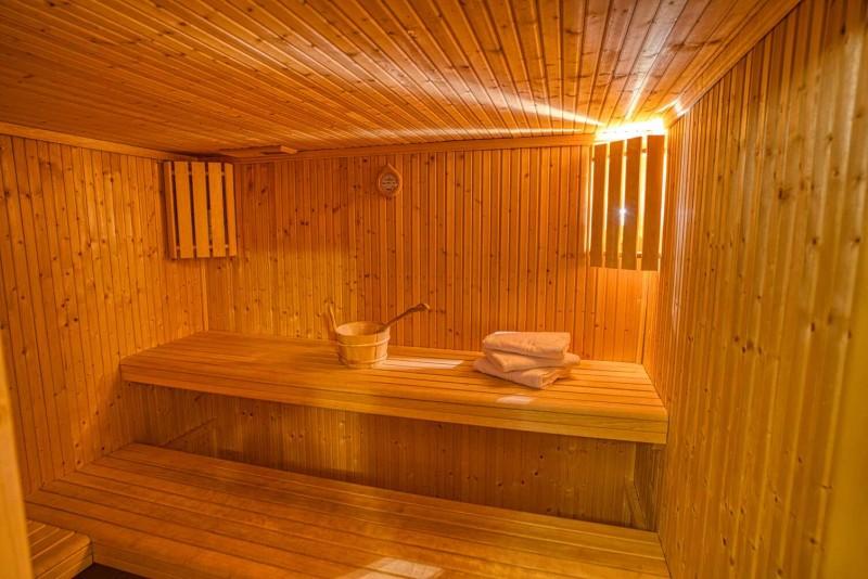 chalet les deux vallées sauna Châtel 74 sauna