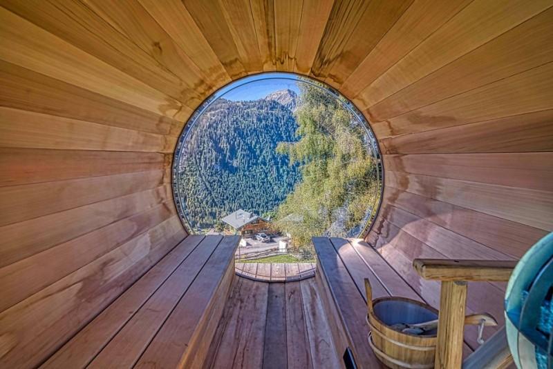Chalet Les Oisillons Châtel Sauna 3